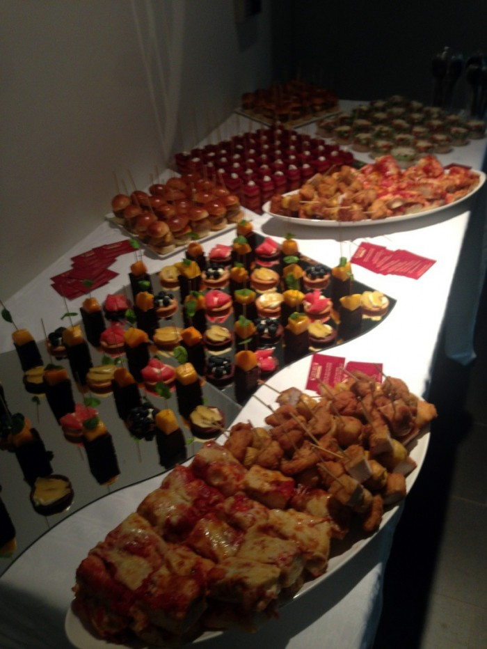International kid's party today at the italian embassy , with a successful catering from Lucadeli.