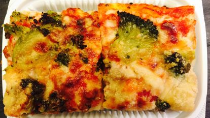 Sausage & Broccoli Pizza