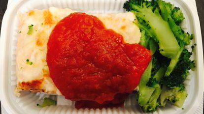 Salmon and Broccoli Doria