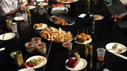 Catering party for Hulic in tokyo