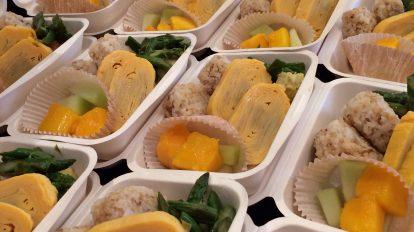 Okaka and tamagoyaki