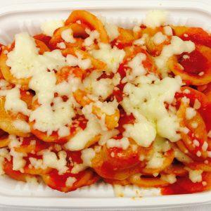 Tomato and Mozzarella Short Pasta