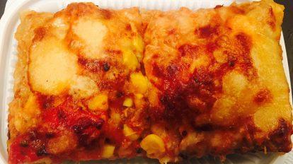 Tuna, Sweet Onion and Corn Pizza