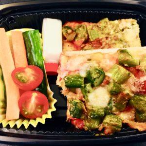 Fresh Tomato and Asparagus Pizza